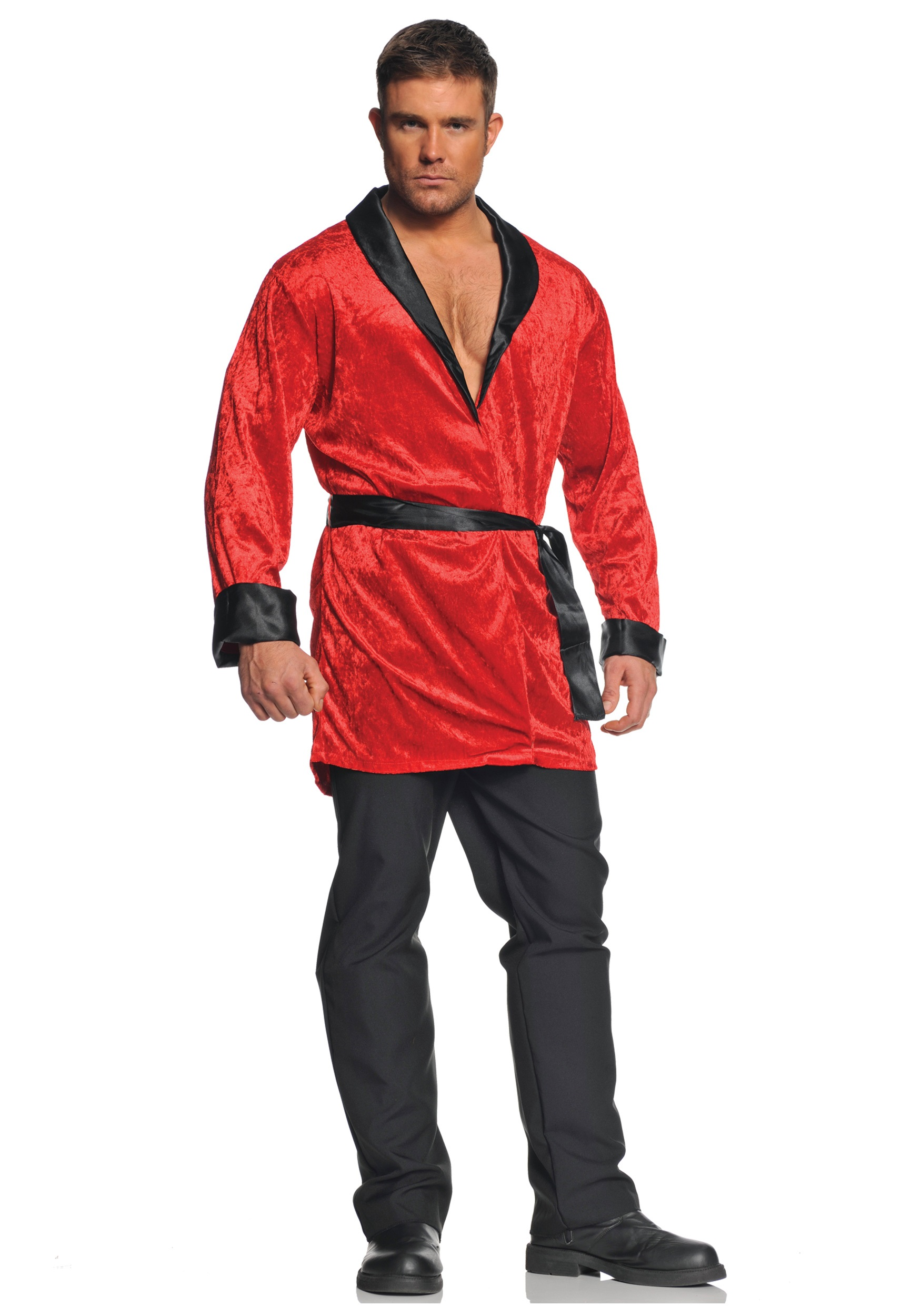 Plus Size Smoking Jacket