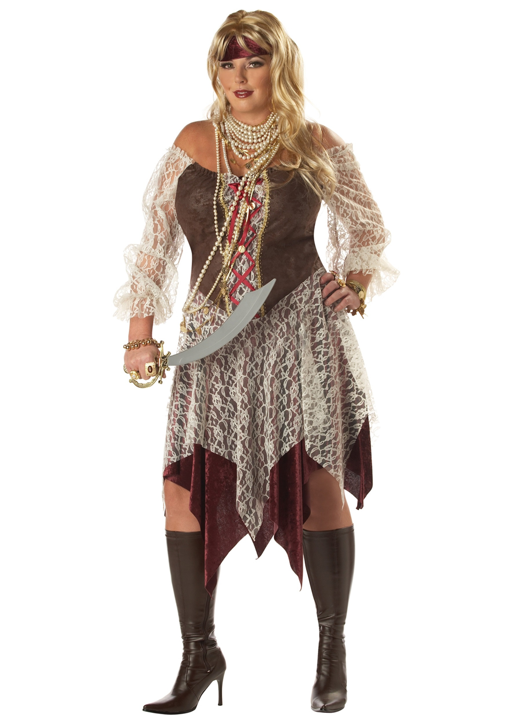 Plus Size South Seas Siren Costume