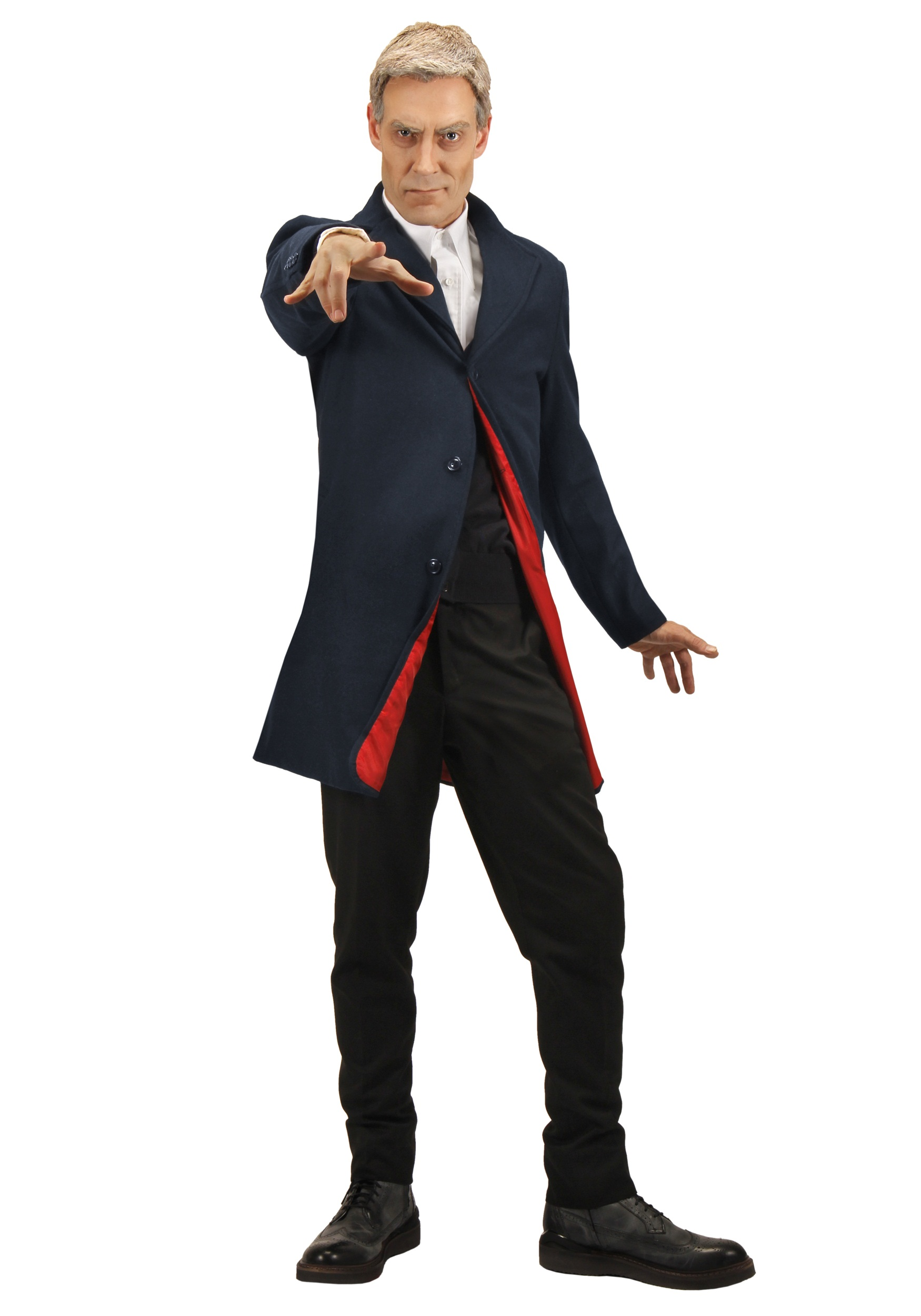 Plus Size Twelfth Doctor Mens Jacket