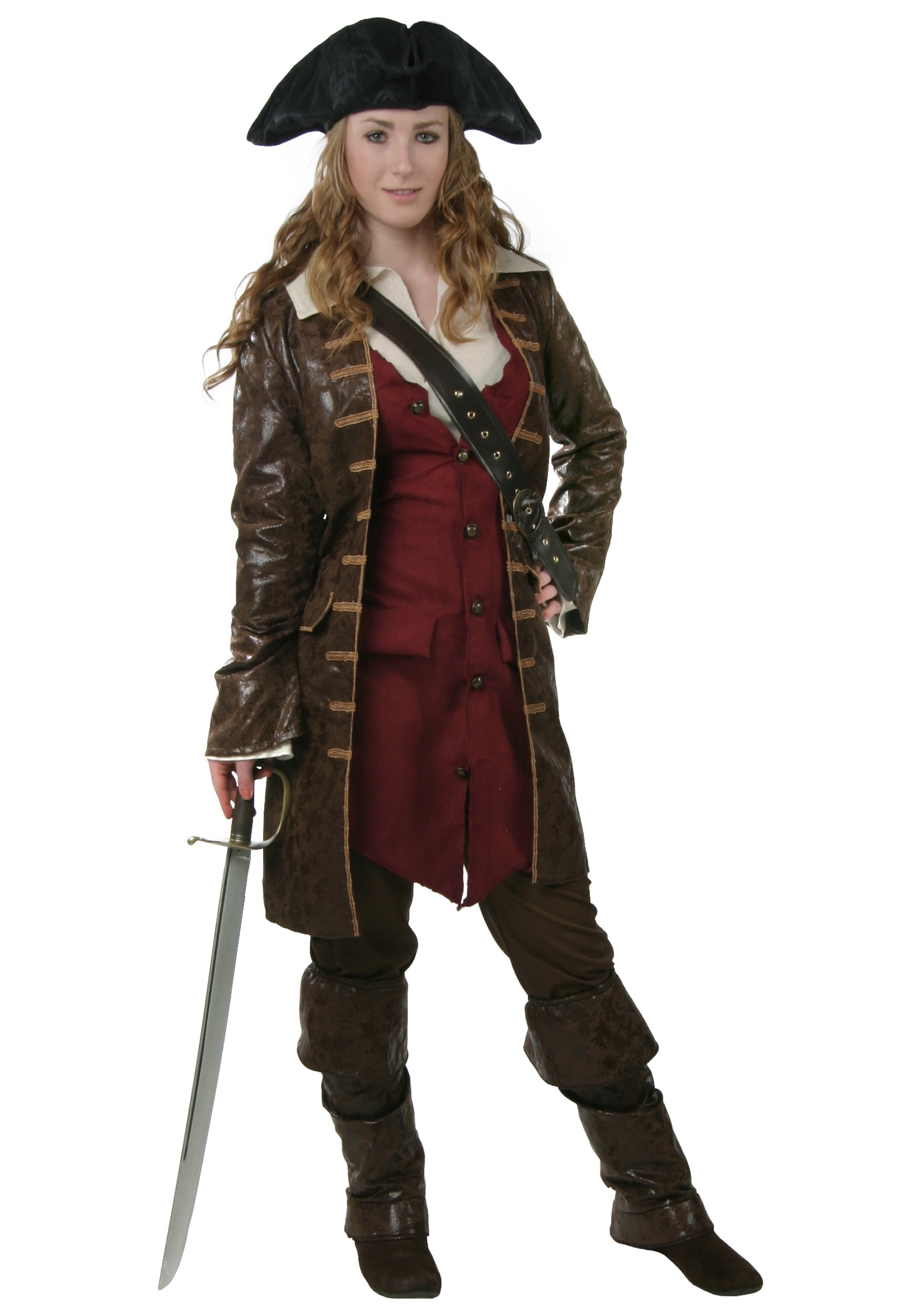 Plus Size Women's Caribbean Pirate Costume