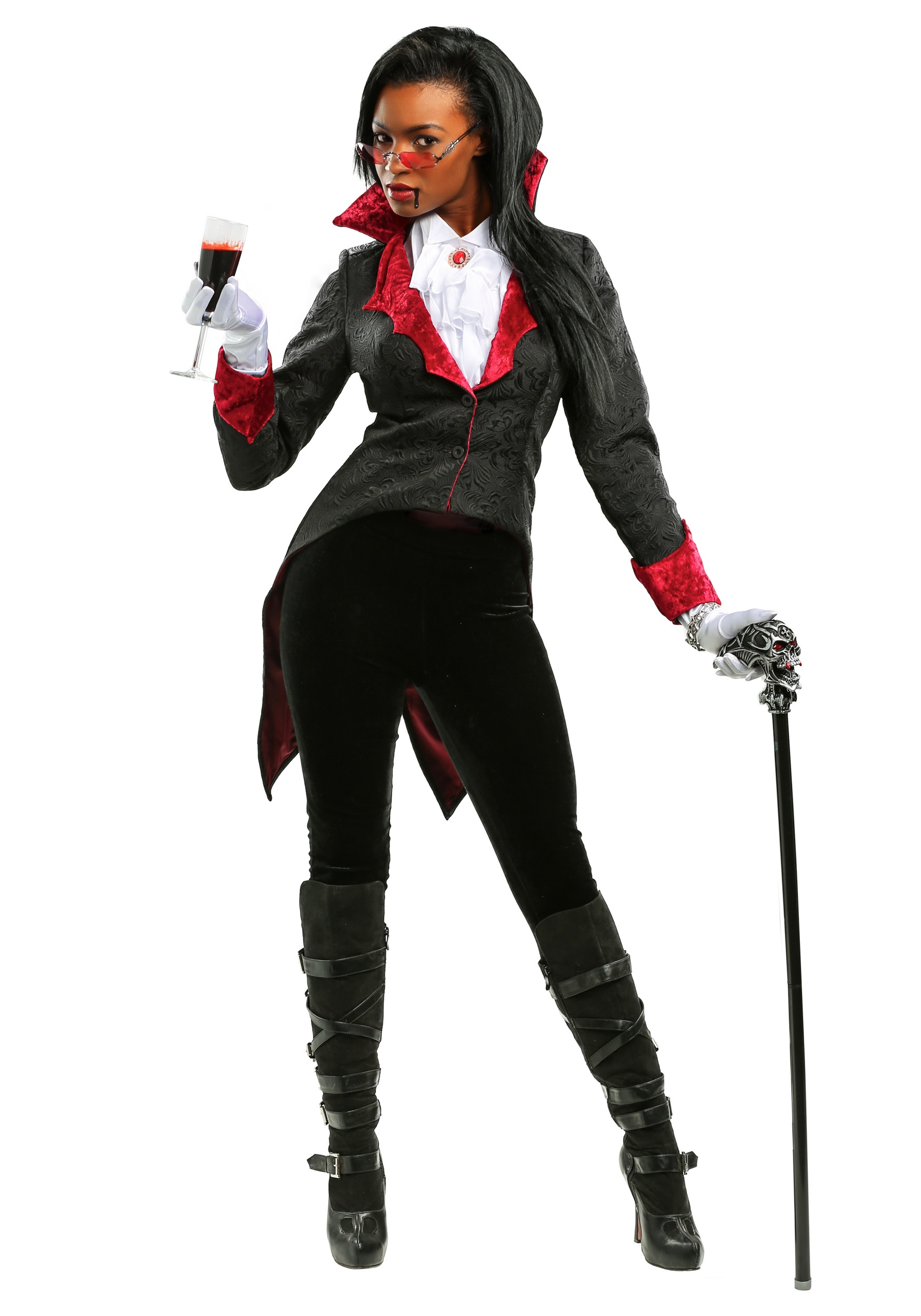 Plus Size Women's Dashing Vampiress Costume