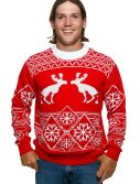 Pooping Moose Ugly Christmas Sweater