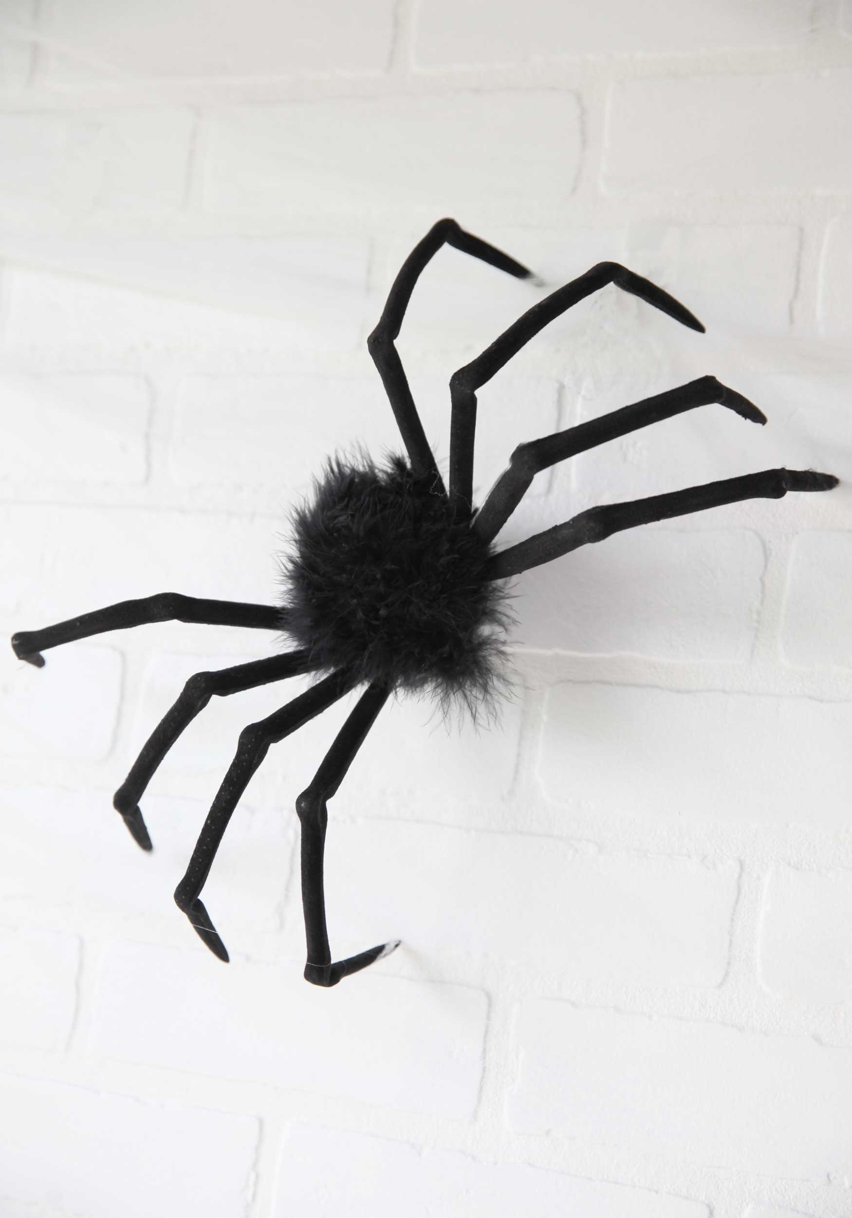 "Poseable 16"" Small Furry Spider"