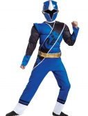 Power Rangers Ninja Steel Blue Ranger Boys Muscle Costume
