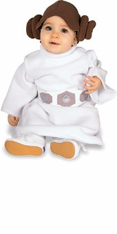 Princess Leia Toddler Halloween Costume