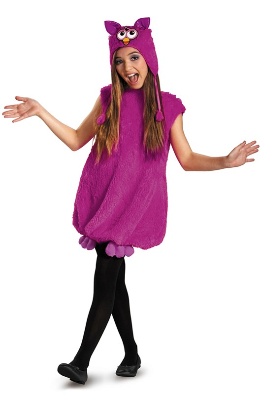 Purple Furby Deluxe Costume