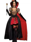 Queen of Hearts Adult Costume w/ Cape