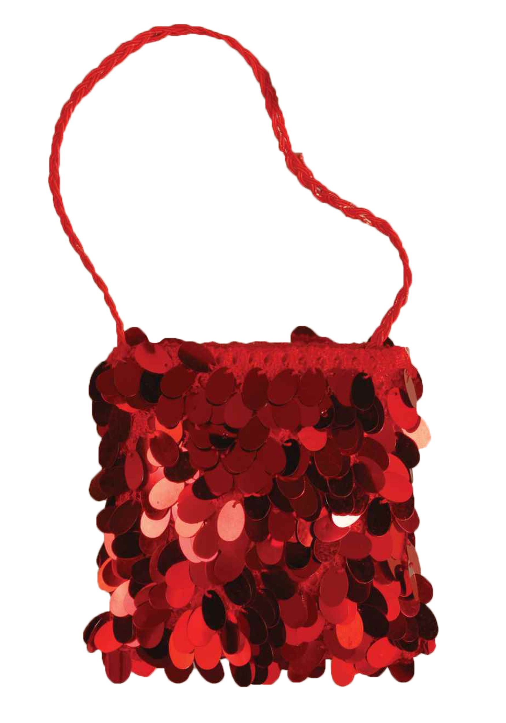 Red Flapper Bag