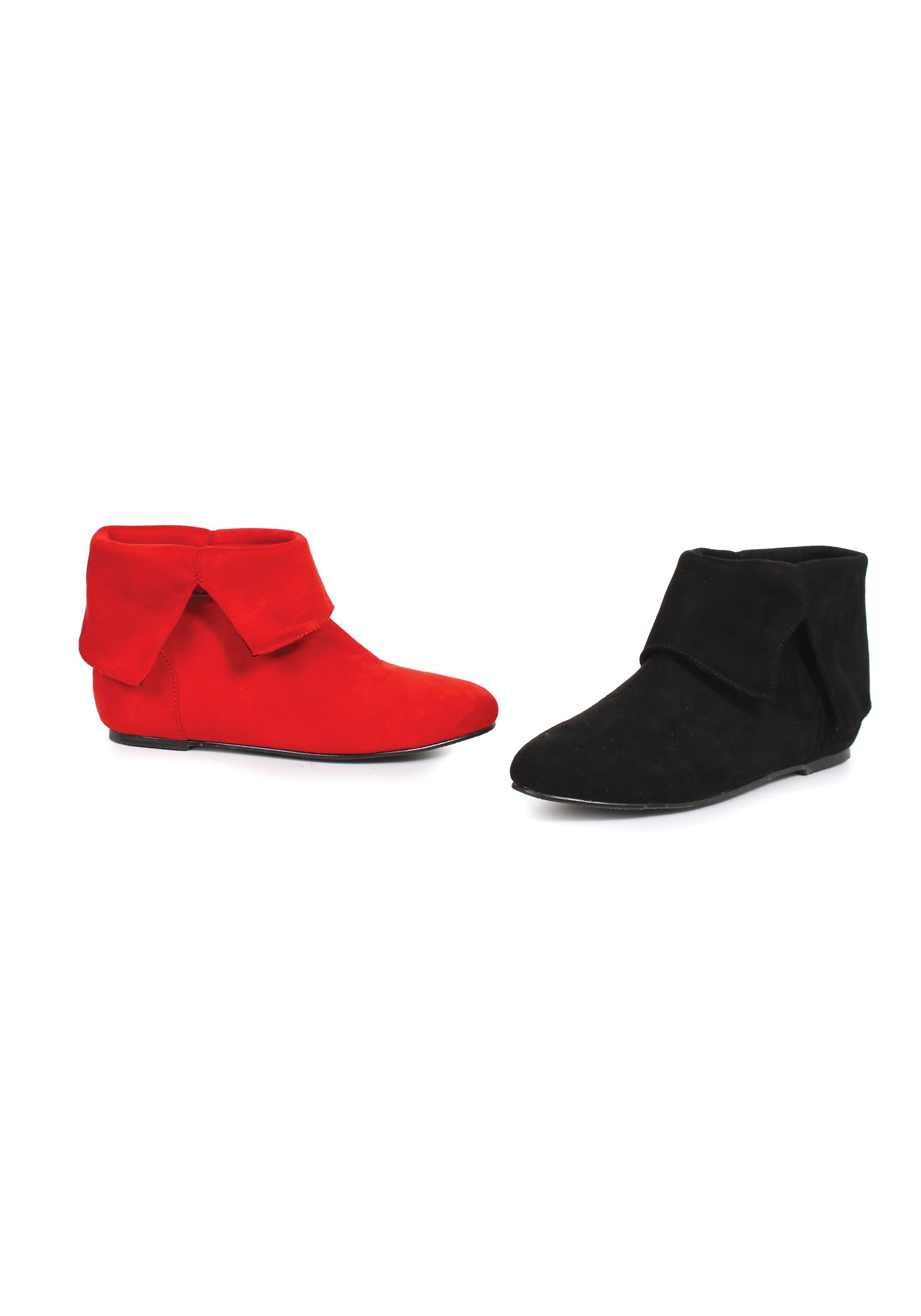 Red and Black Girls Harlequin Boots