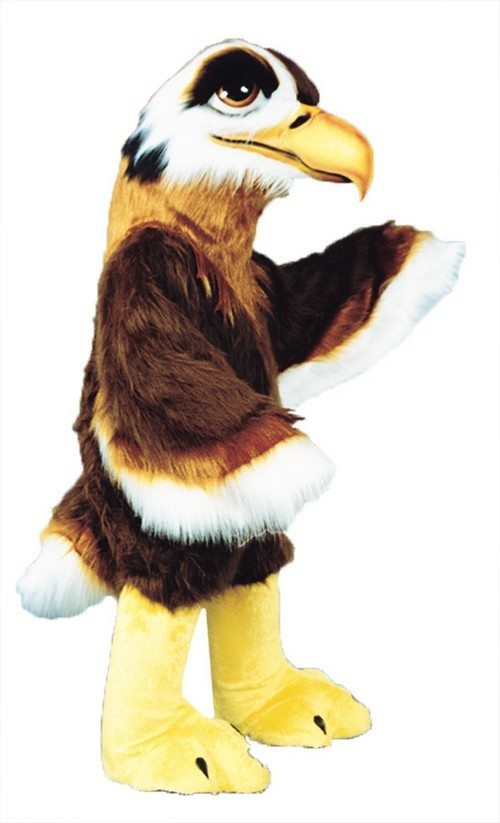 Regal Hawk Mascot Costume