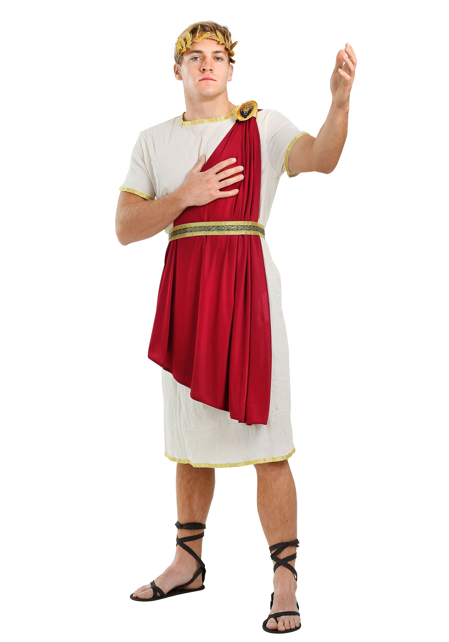 Roman Senator Plus Size Men's Costume