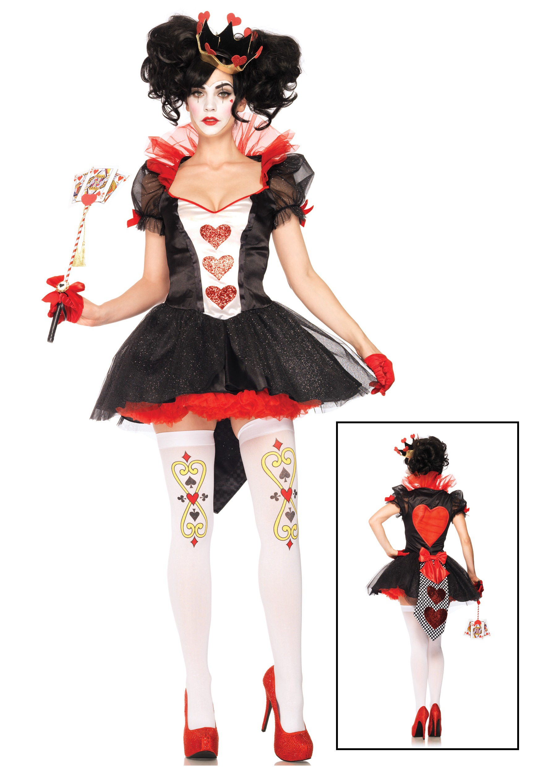 Royal Hearts Queen Costume