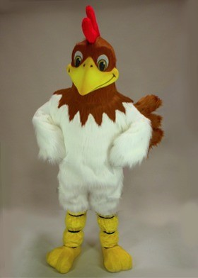 Ryan Rooster Mascot Costume