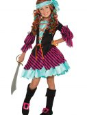 Salty Taffy Girls Pirate Costume