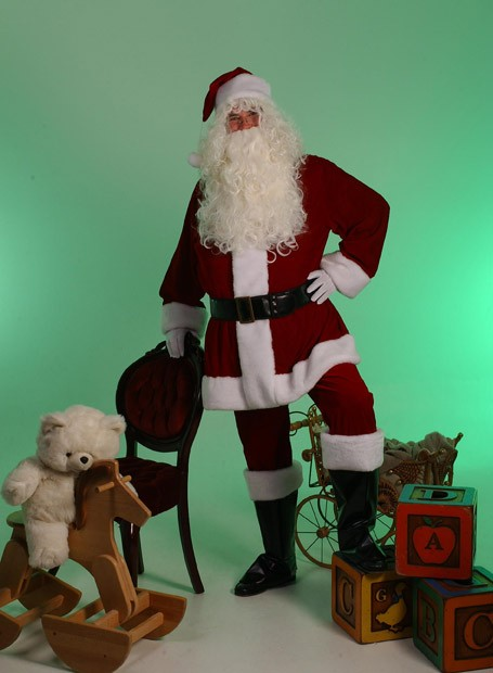 Santa Wig and Beard Costume