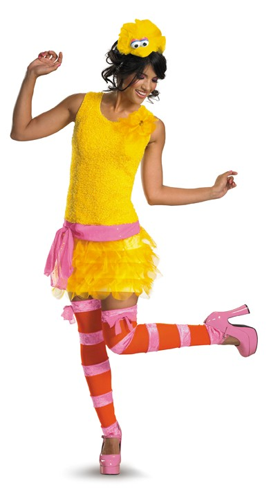 Sexy Big Bird Sesame Street Costume