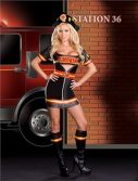 Sexy Firefighter Costume