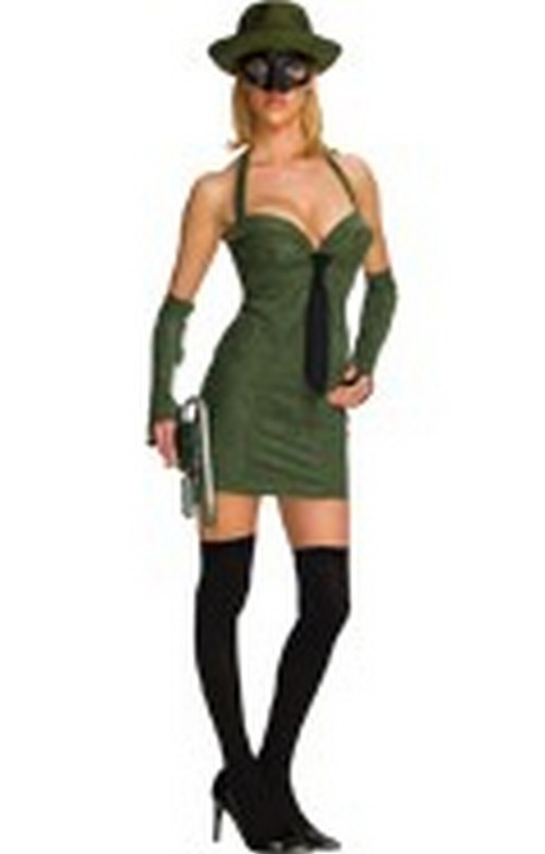 Sexy Green Hornet Costume