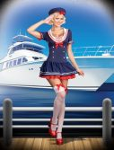 Sexy Hello Sailor Costume