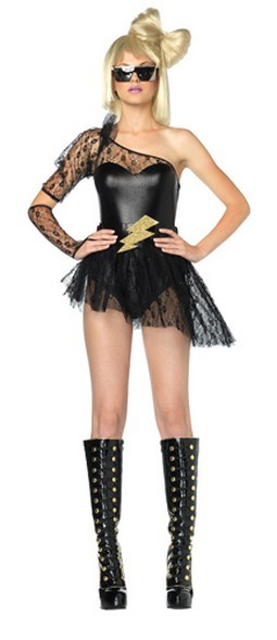 Sexy Lightening Rocker Costume