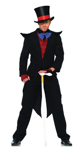 Sexy Mad Hatter Evil Costume