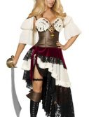Sexy Pirate Costume - 3pc