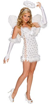 Sexy Playboy Angel Costume