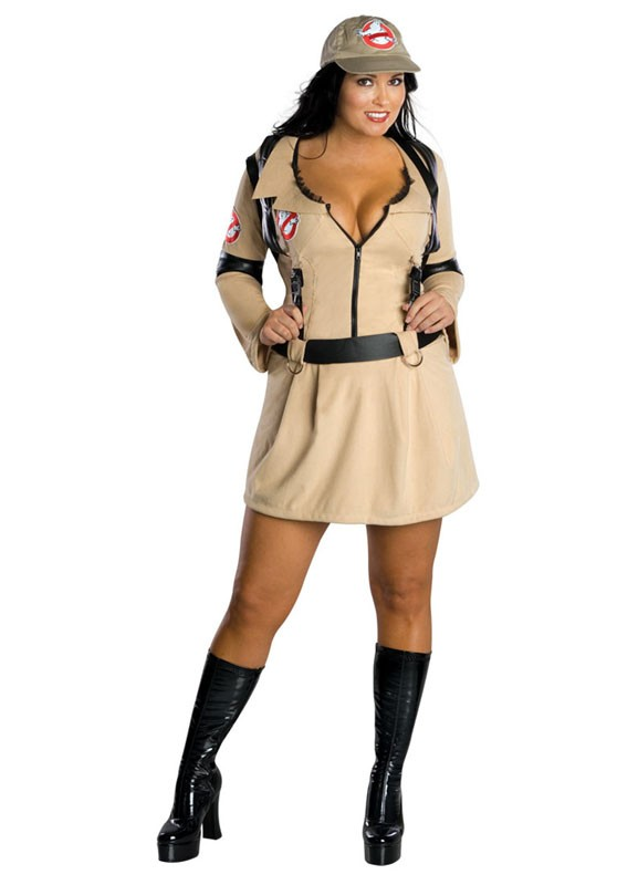 Sexy Plus Size Ghostbusters Costume
