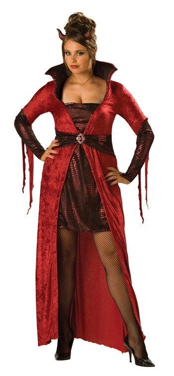 Sexy Plus Size Seductive Devil Costume