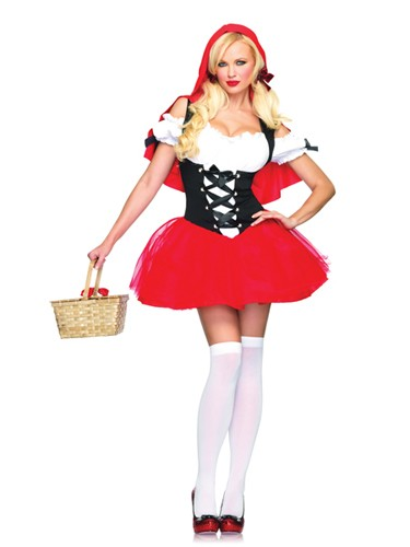 Sexy Red Riding Hood Racy Costume