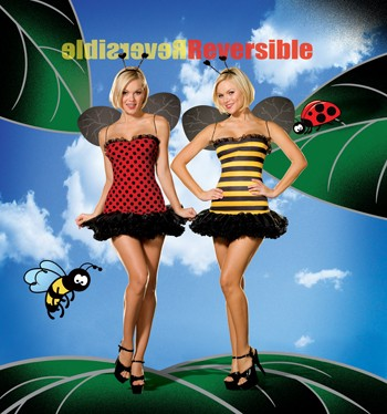 Sexy Reversible Buggin Out Costume