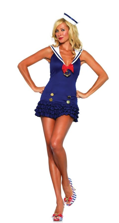 Sexy Sweetheart Sailor Costume