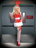 Sexy Vital Signs Nurse Costume