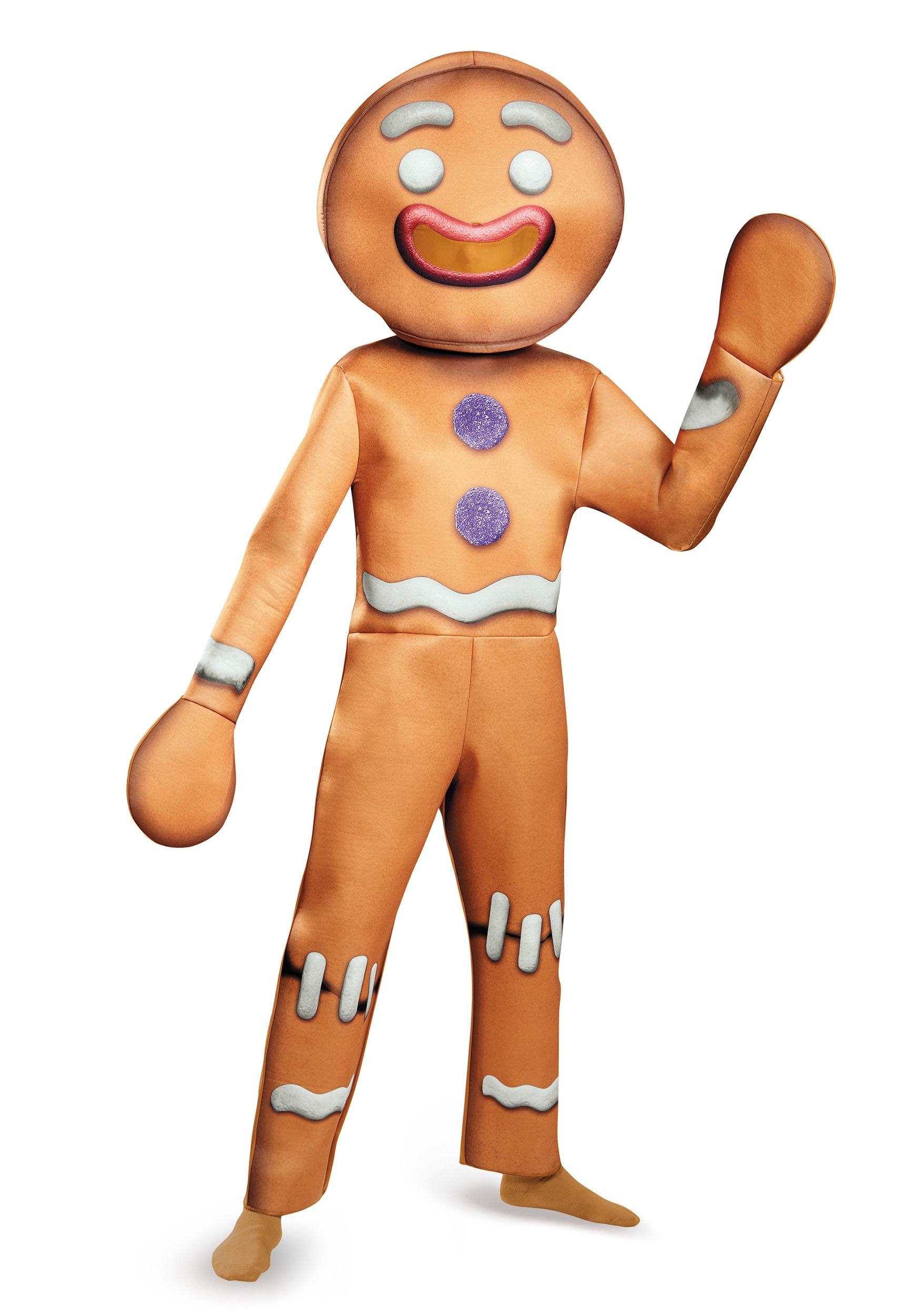 Shrek Gingy Deluxe Adult Costume