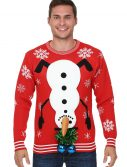 Snowman Balls Christmas Sweater