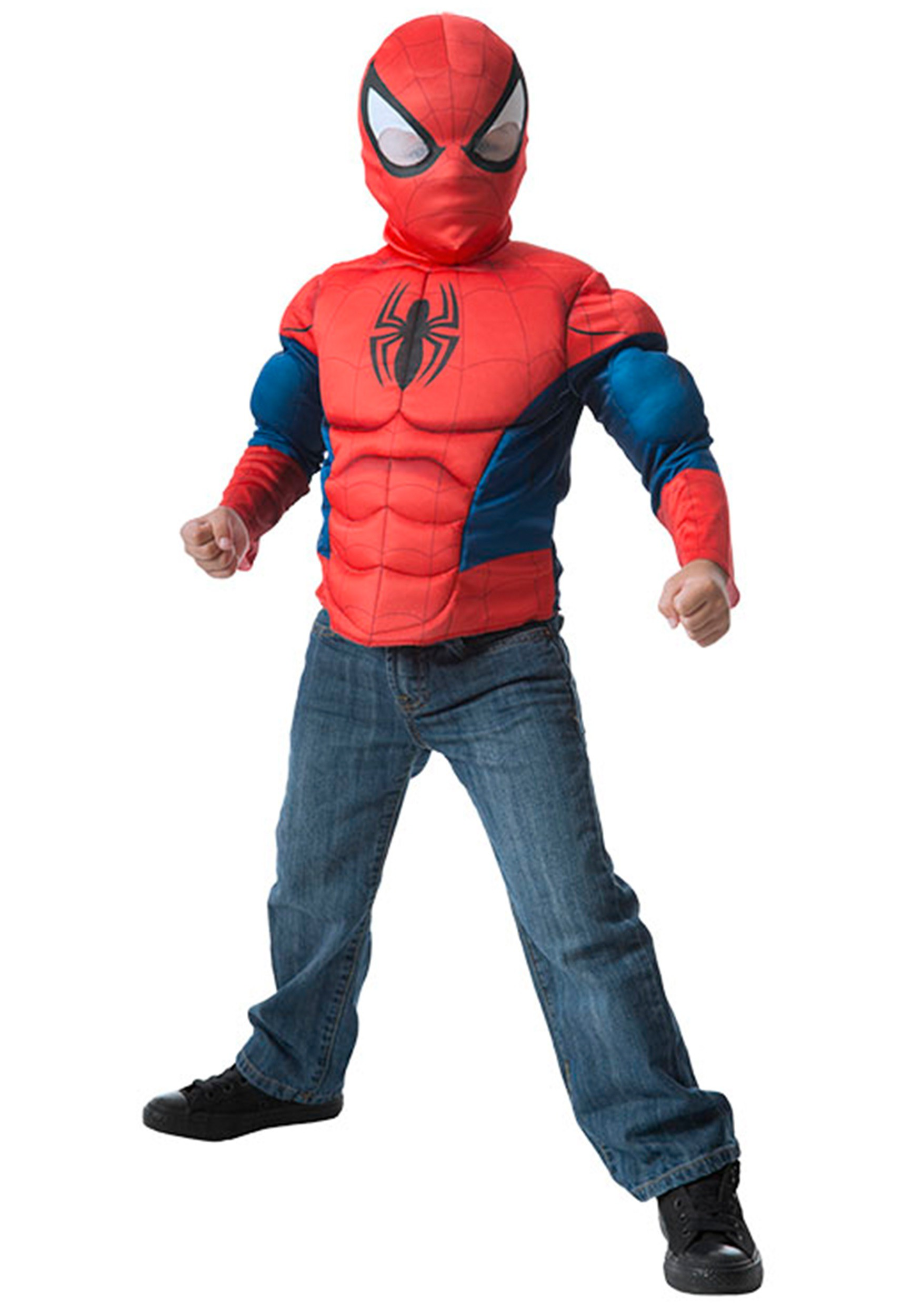Spider-Man Muscle Chest Dress Up Box Set
