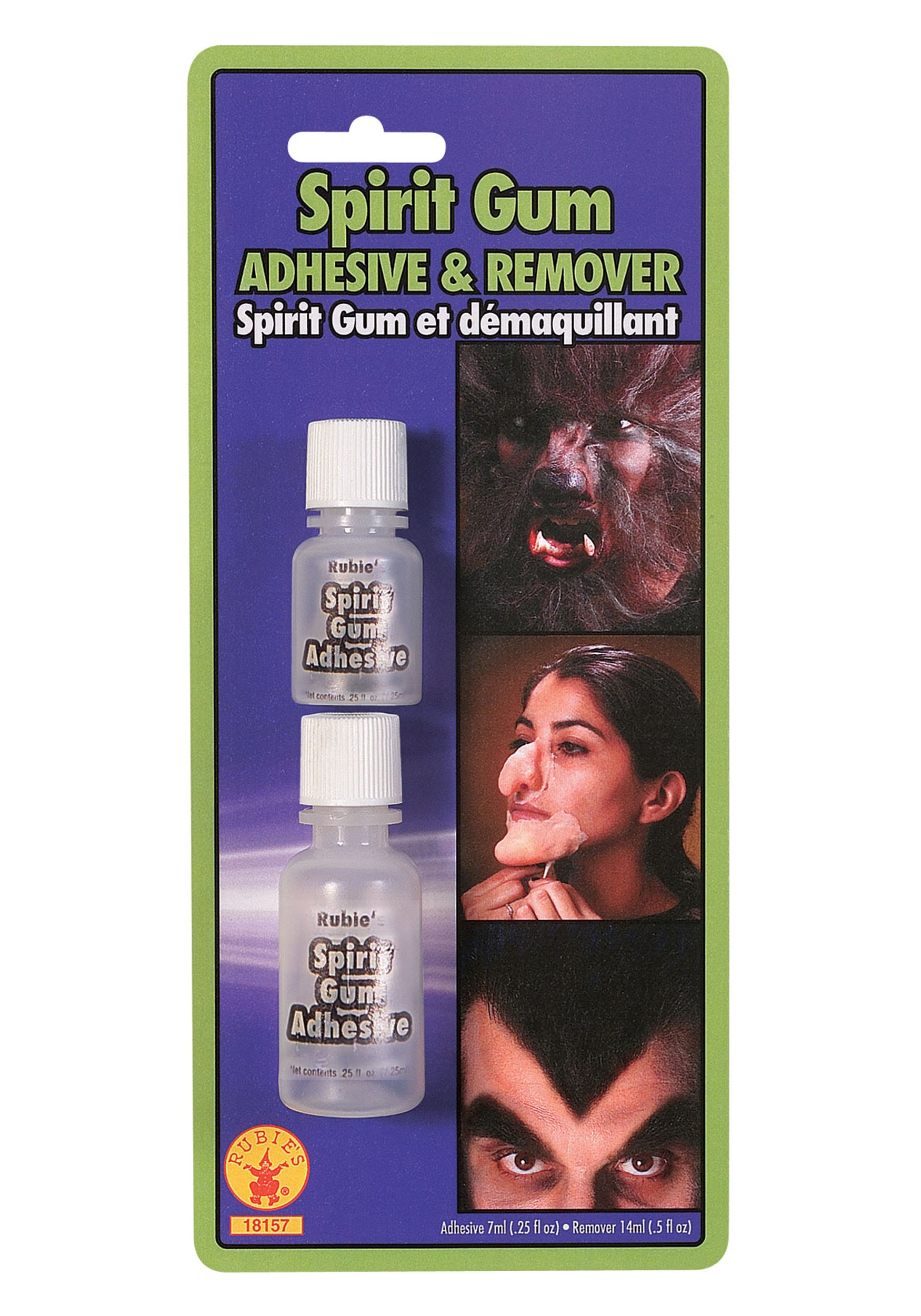 Spirit Gum Adhesive with Remover