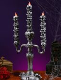 Stack of Skulls Candelabra