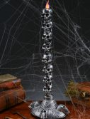Stack of Skulls Large Candle Tower