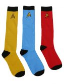 Star Trek Ladies Knee High Socks 3 Pack