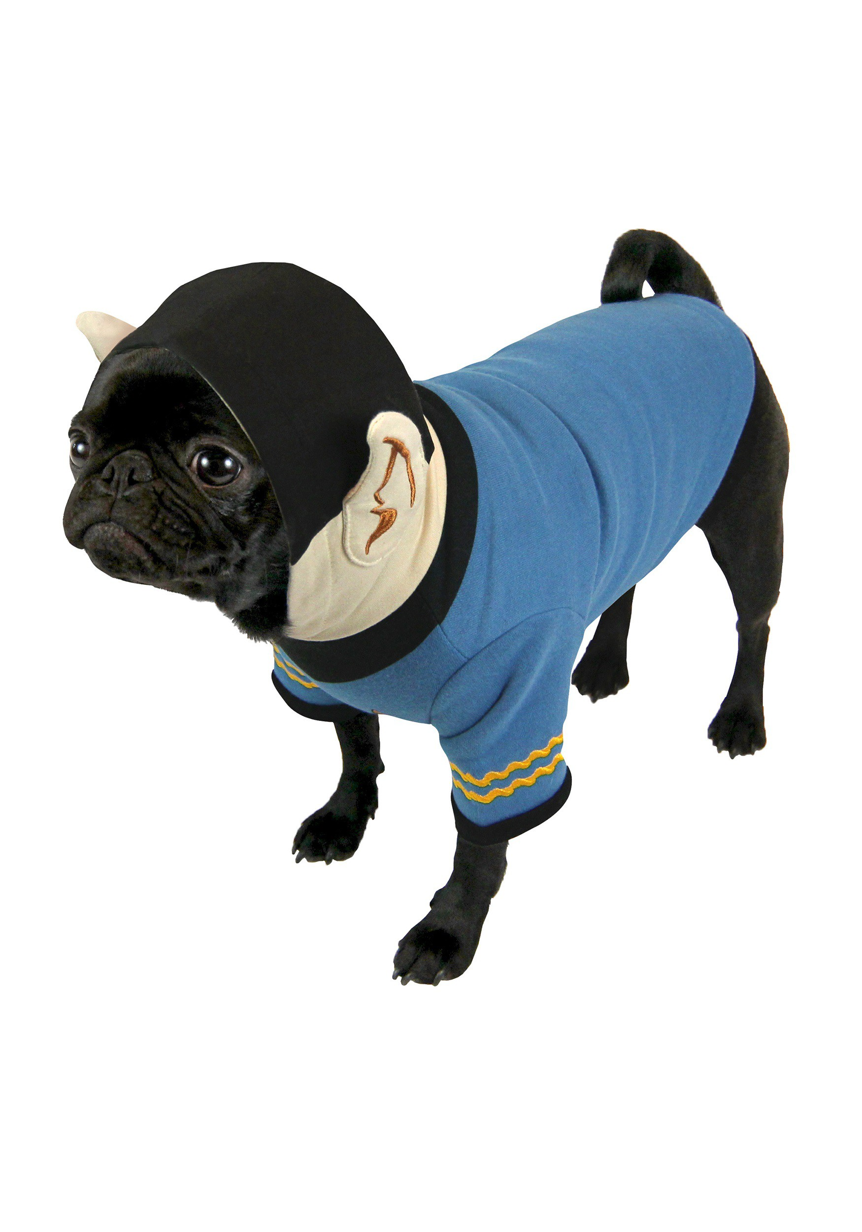 Star Trek Spock Hooded Dog Uniform
