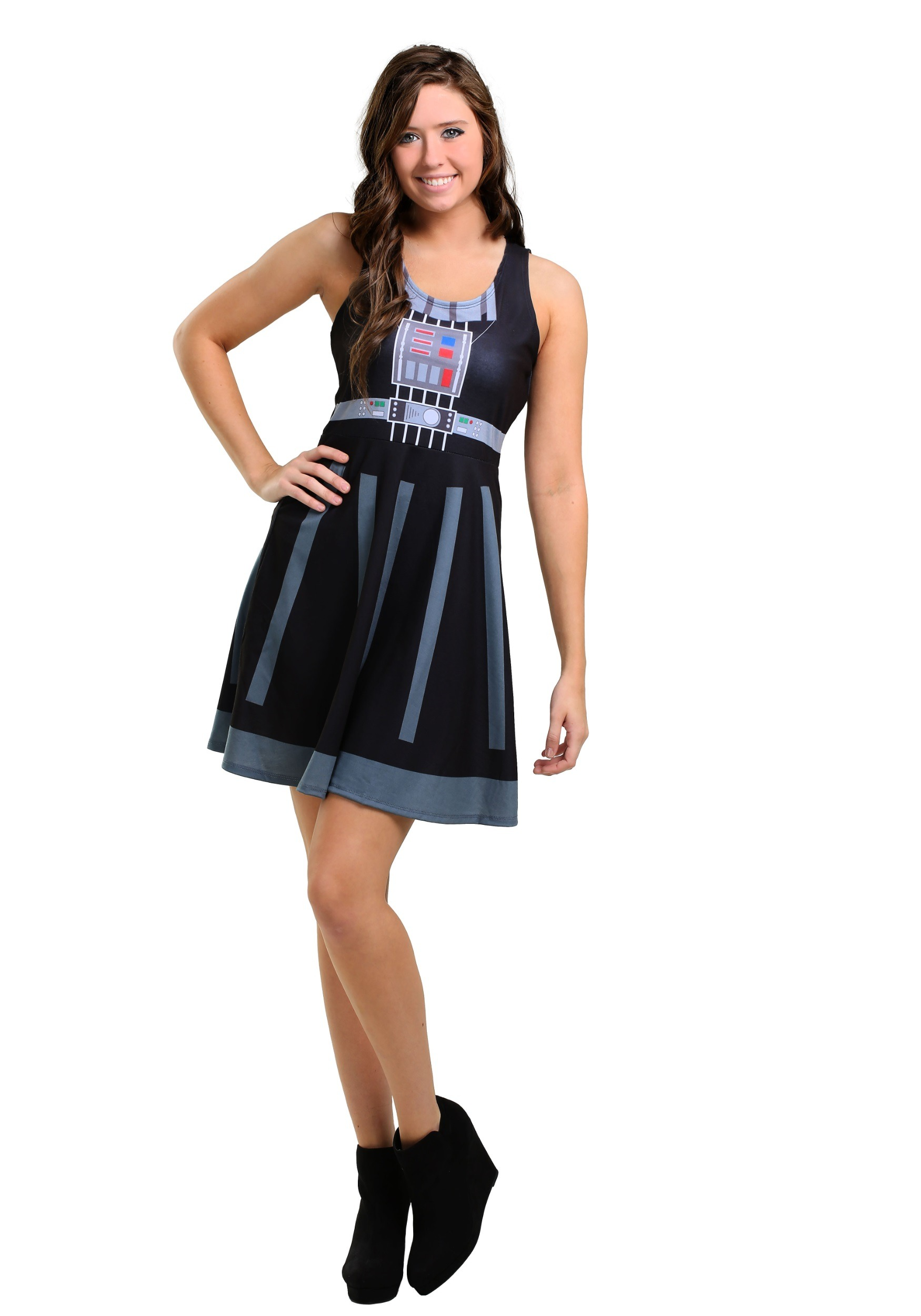 Star Wars Darth Vader A-Line Dress