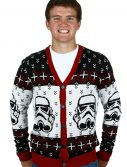 Star Wars Stormtrooper Men's Ugly Sweater Cardigan