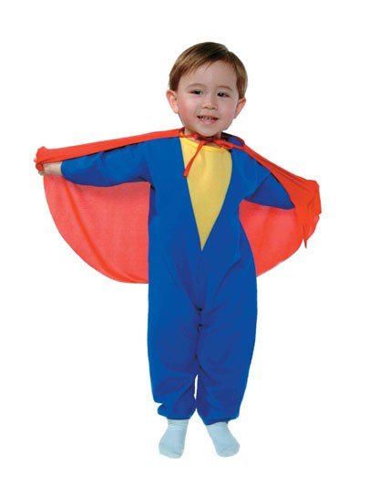 Super Boy Toddler Costume