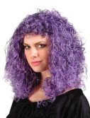Super Curly Wig - Purple/Black