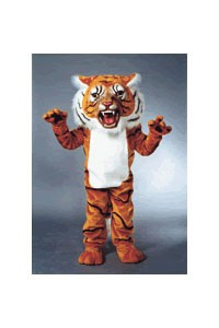 Super Tiger Mascot Costume