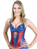 Superman Sequin Corset