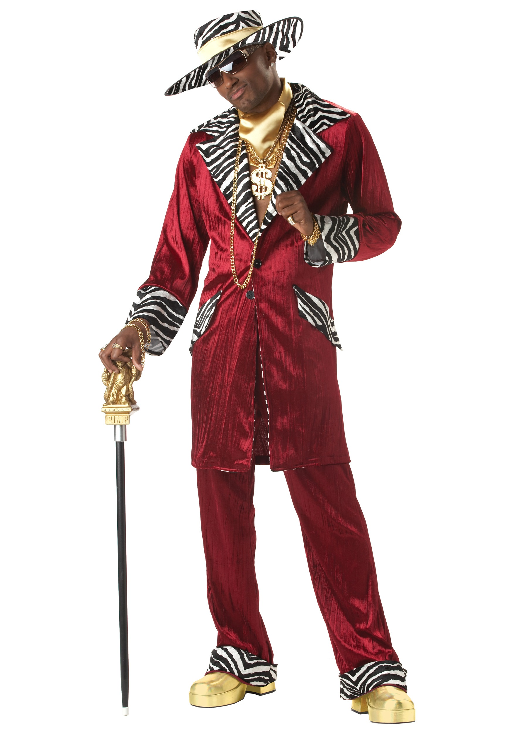 Sweet Daddy Pimp Costume