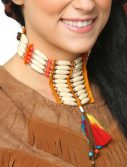 Tan Native Mini Breastplate Choker