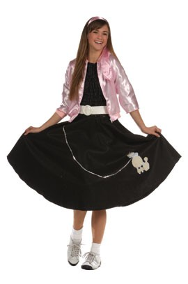 Teen 50's Sock Hop Costume